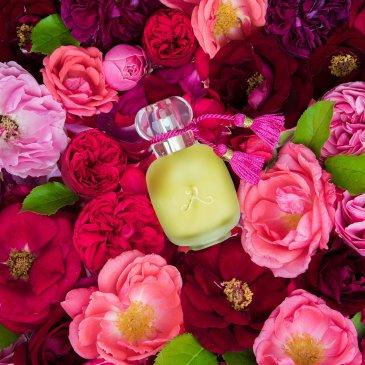 Les Parfums de Rosine Paris; Ballerina №1; Ballerina №2; Ballerina №3; Vive la Mariee; Rose des Neiges; Glam Rose; Majalis; La Rose de Rosine; Secrets de Rose; Rose D'Ete; Un Zest de Rose; Diabolo Rose; La Cologne de Rosine; Rose D'Homme; Rosissimo; Eau de Parfum; Extrait de parfum;